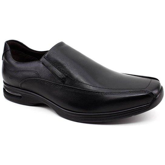98e48fa0338 Sapato Social Democrata Air Spot - Preto - Compre Agora