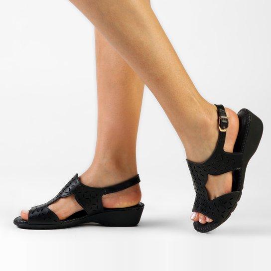 0080f49da Sandália Modare Anabela Laser - Compre Agora