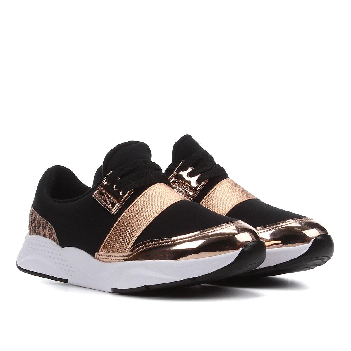 Sapato Infantil Molekinha Tira Metalizada Feminino