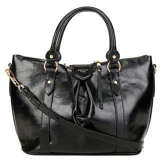e4476b647 Bolsa Couro Carmim Handbag Verônica Feminina