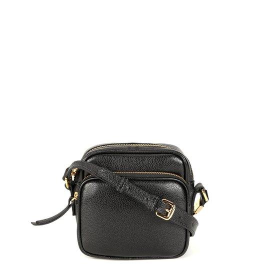 272b84287 Bolsa Couro Luz da Lua Mini Bag Alça Transversal Feminina - Compre ...