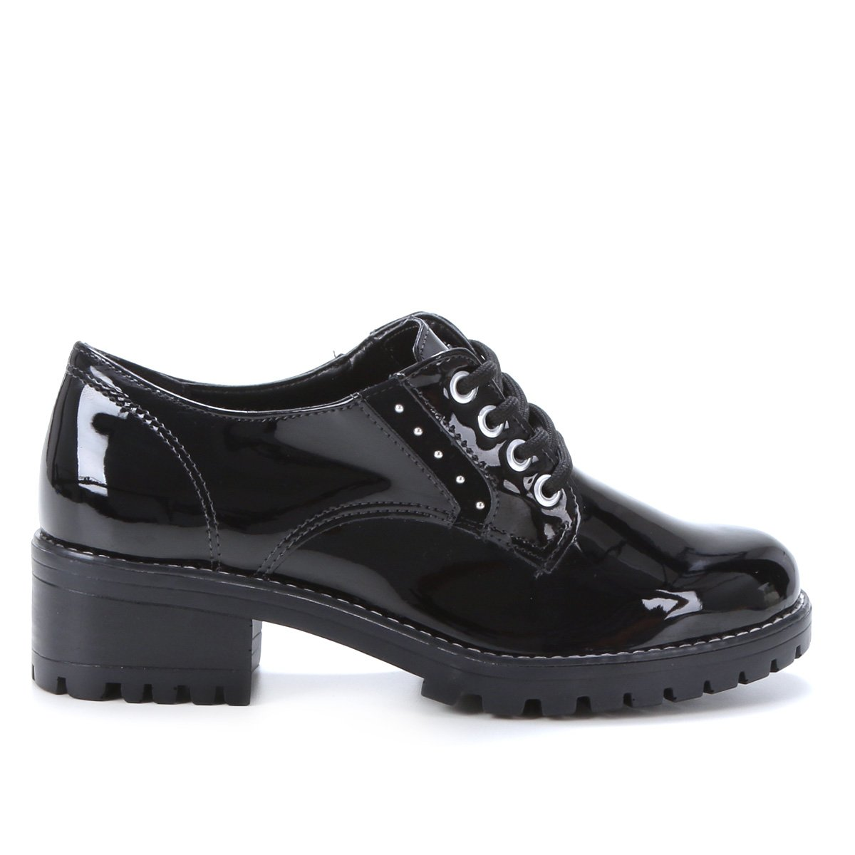 Sapato Oxford Via Marte Mini Tachas Feminino