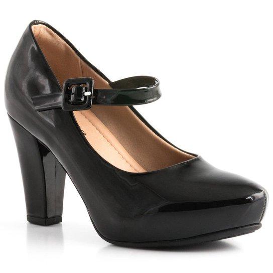 f35827843 Sapato Piccadilly Soft Step Verniz 693015 - Preto - Compre Agora ...