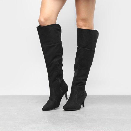 0ed695242e Bota Piccadilly Over The Knee Salto Fino Feminina - Compre Agora ...