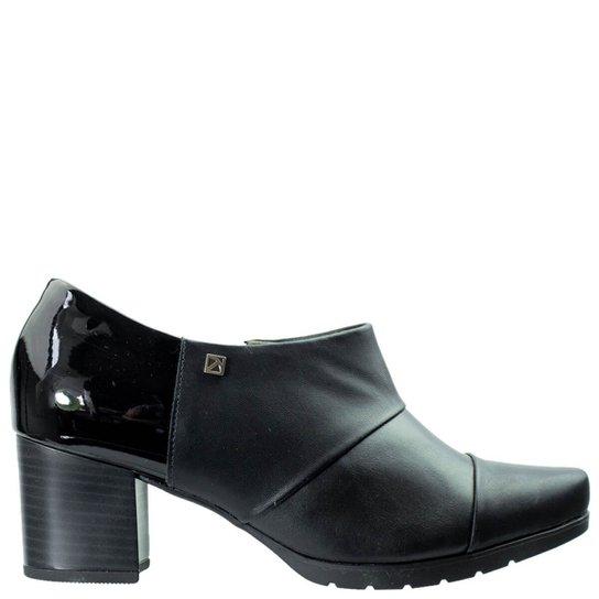 bb31c0025c Ankle Boot Piccadilly Napa Verniz Feminino - Preto - Compre Agora ...