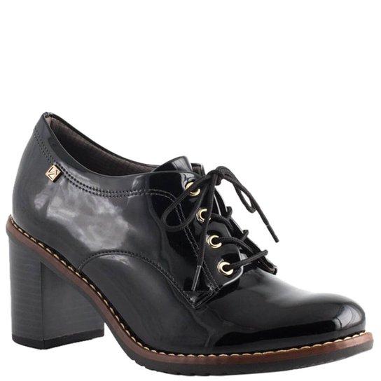 52fbb8f0a6 Oxford Piccadilly Verniz Feminino - Preto - Compre Agora