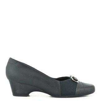 ee89e4a72 Sapato Conforto Usaflex Preto - Calçados