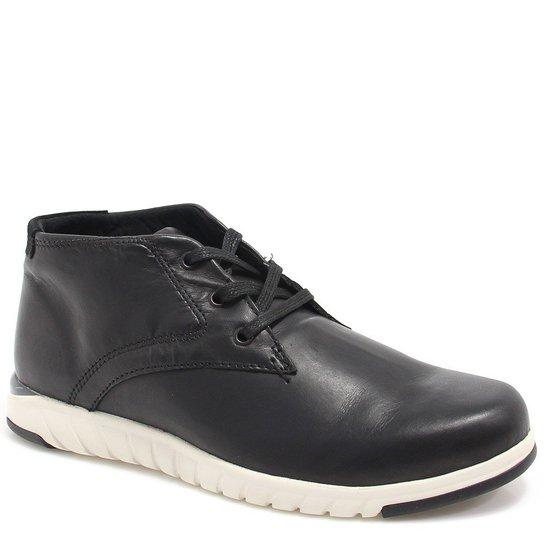 527b4544f4 Sapatênis West Coast Casual Worker - Preto - Compre Agora