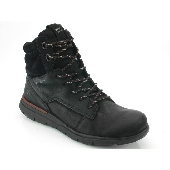 Bota West Coast Rodeo Brush - Preto - Compre Agora  10310d6be6a