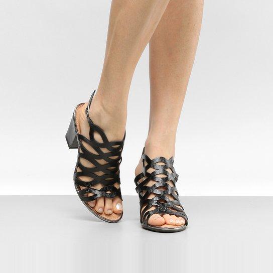 91cfa48fb7 Sandália Dakota Salto Grosso Gladiadora Feminina - Compre Agora ...