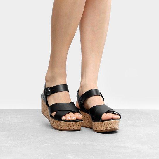 62fdd6e347 Sandália Plataforma Dakota Tiras Cruzadas Feminina - Compre Agora ...