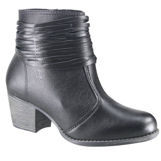 ad57734f6 Bota Moleca Cano Baixo Ankle Boot Feminina | Zattini
