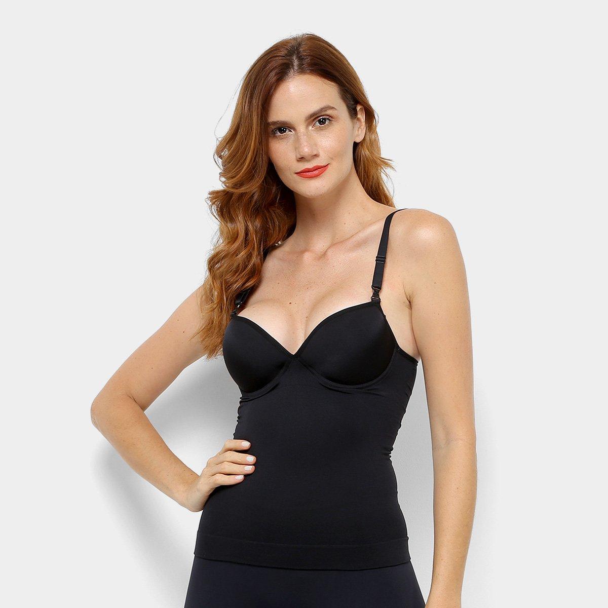 3ce839995 Cinta Modeladora Lupo Corpete Bojo Slim Sem Costura
