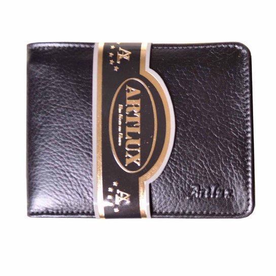 55adda5ea7 Carteira de Couro Artlux - Preto - Compre Agora