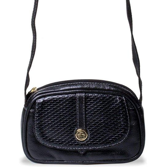 0c7f52d3a4 Mini Bolsa Feminina Transversal Artlux - Preto - Compre Agora