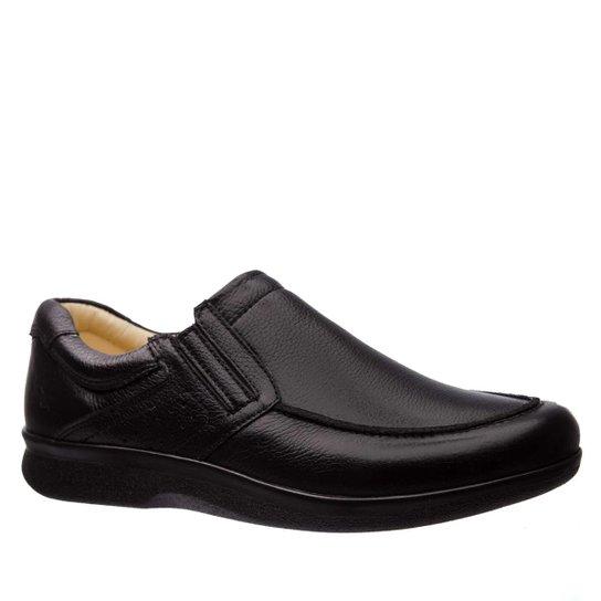 ad17e99f4 Sapato Esporão em Couro Floater Doctor Shoes Masculino - Preto   Zattini