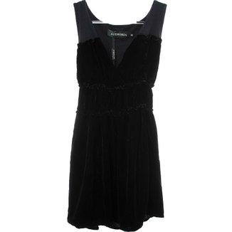 0037259928 Vestido Lastex Cint. - Authoria