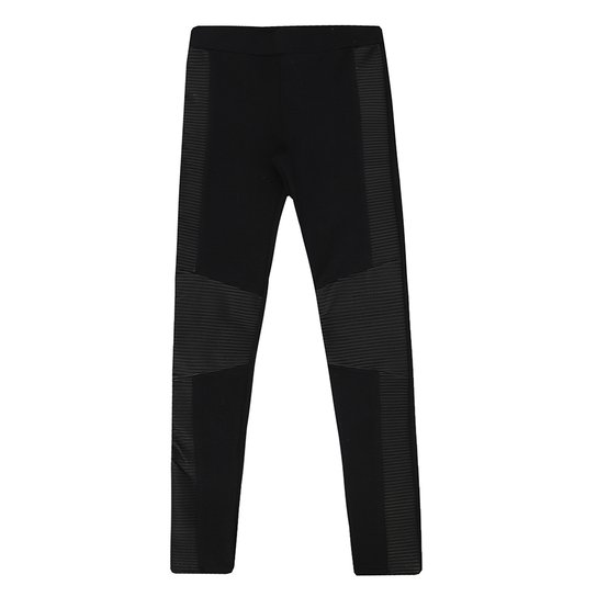 b46d88737 Calça Legging Recorte Couro - Compre Agora | Zattini
