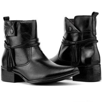 5e8832a487 Bota Art Shoes Cano Curto Feminina
