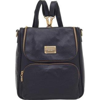b6288fcf2 Mochila Transversal Smart Bag Couro Safiano