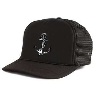 Boné Blanks Co Snap Back Black Anchor Aba Curva - Masculino 4ebe6c586e5