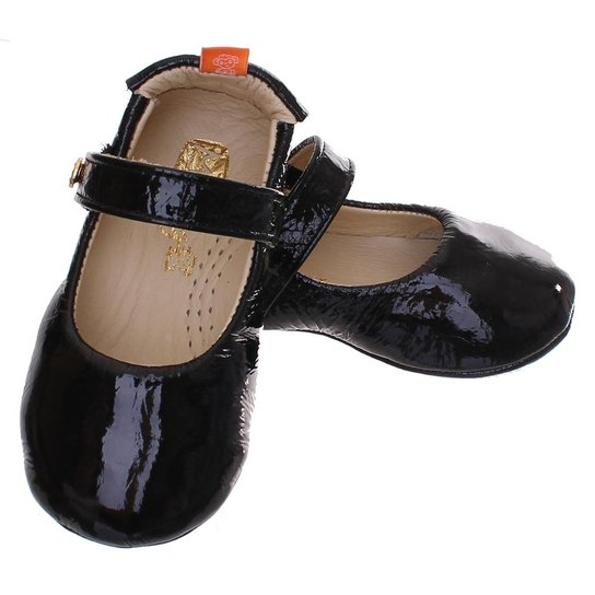 d9962020b4 Sapato Boneca Mogly Verniz - Preto - Compre Agora