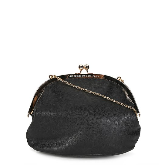 8f6003b01 Bolsa Couro Jorge Bischoff Mini Bag Alça Corrente Feminina - Compre ...
