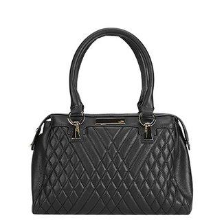Bolsa Couro Jorge Bischoff Handbag Matelassê Feminina 12c4a7444c