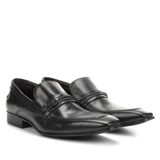 5fcdc8c06d Sapato Social Couro Jorge Bischoff Estugarda - Preto - Compre Agora ...