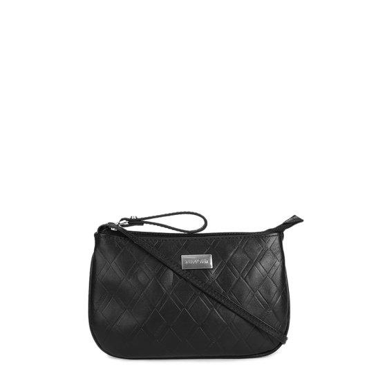 Bolsa Couro Dumond Transversal Monograma Feminina - Compre Agora ... 09dc9c653e4