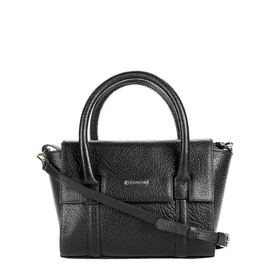 635e7243c Bolsa Couro Dumond Handbag Alça Transversal Feminina - Preto | Zattini