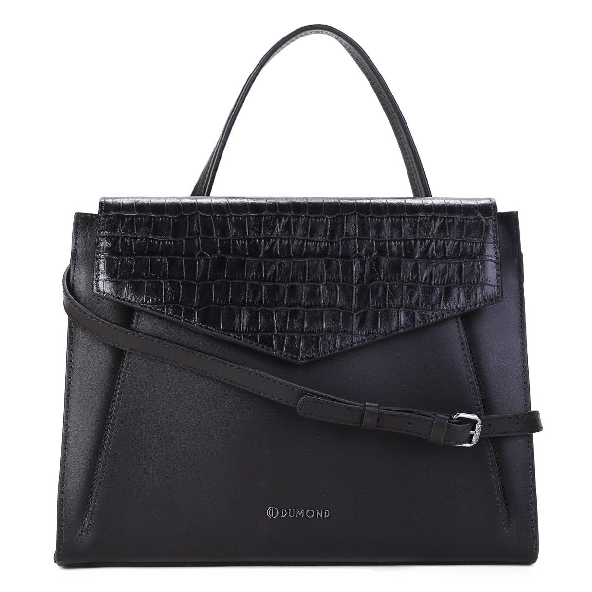 3775d7cf7 Bolsa Couro Dumond Handbag Transversal Feminina
