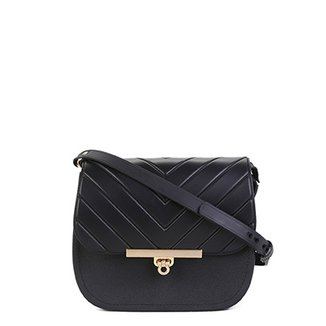 beb56cefd00af Bolsa Couro Dumond Mini Bag London Feminina