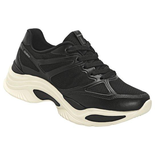871b3a49bf5 Tênis Azaleia Chunky Sneaker Feminino - Preto - Compre Agora