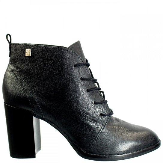 66a9bae9b Ankle Boot Feminina Loucos e Santos Couro L51074001 - Preto | Zattini