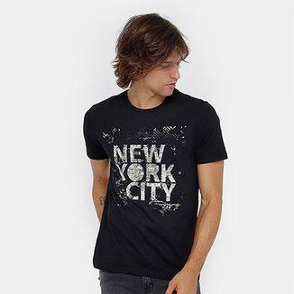 34748323cbff9 Camiseta Burn New York Masculina