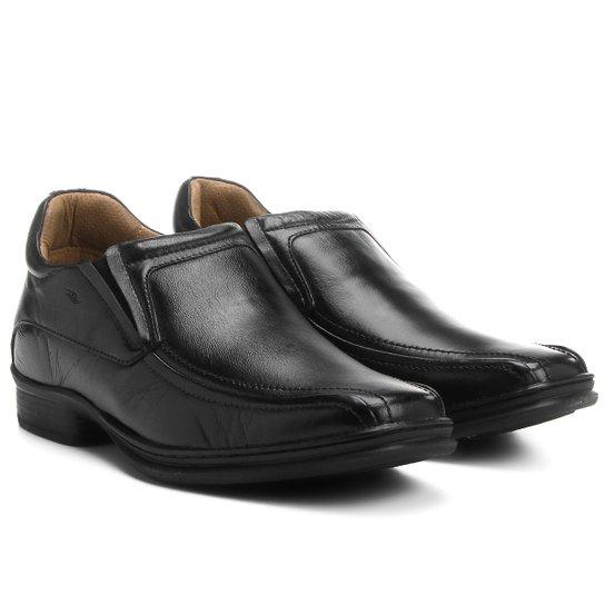 9488ce8bb Sapato Conforto Couro Rafarillo Soft Confort Alth - Preto - Compre ...
