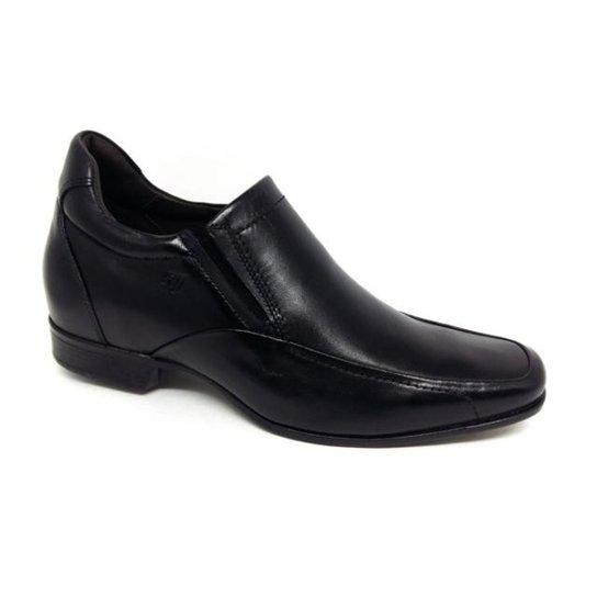 b15cb4ad9e Sapato Rafarillo Palmilha de Aumento 7cm Social Masculino - Preto ...
