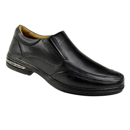 2270f6651 Sapato Social Couro Rafarillo Masculino - Preto - Compre Agora
