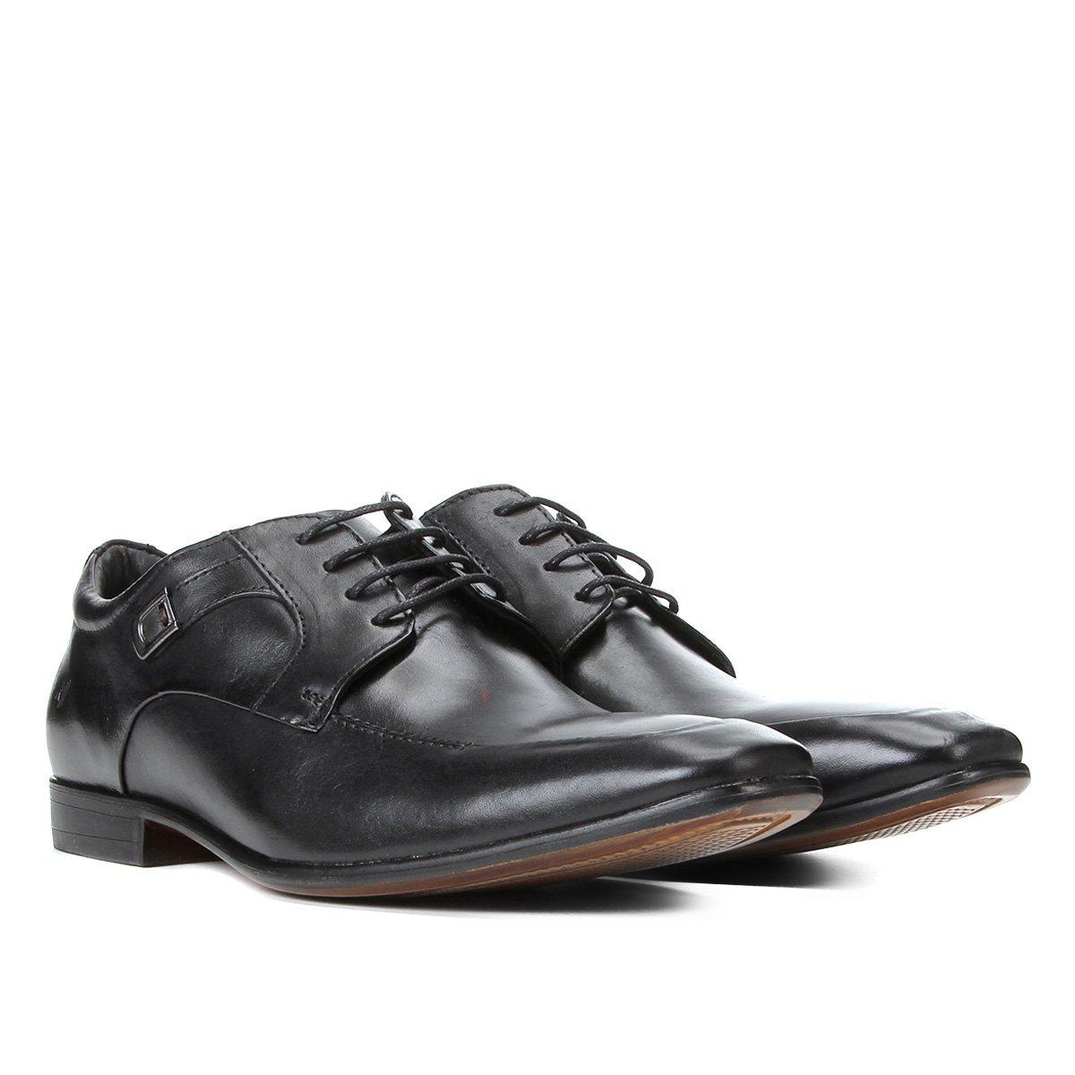 Sapato Social Couro Rafarillo Dubai Cadarço Masculino