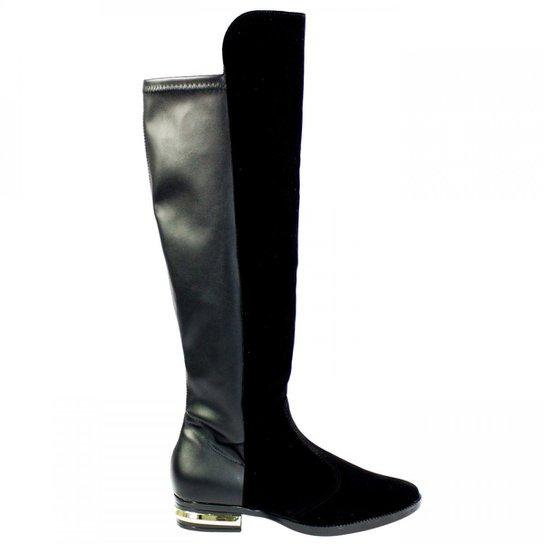 a906e8f72f3 Bota Feminina Over The Knee Vizzano Cano Longo 3050.205 - Compre ...