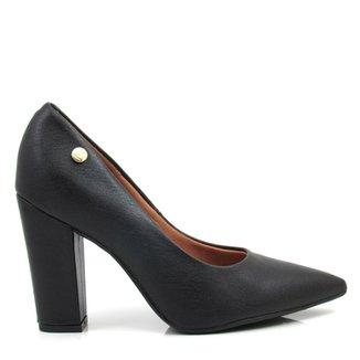 576c068f52 Sapato Feminino Scarpin Salto Grosso Vizzano