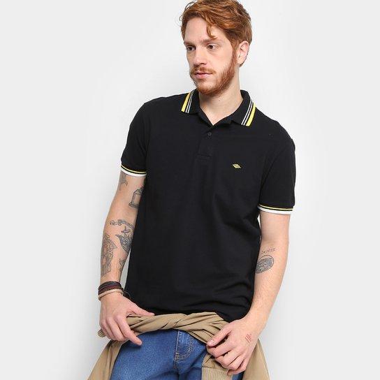 Camisa Polo Piquet Triton Manga Curta Masculina - Preto - Compre ... a820a9faf5745