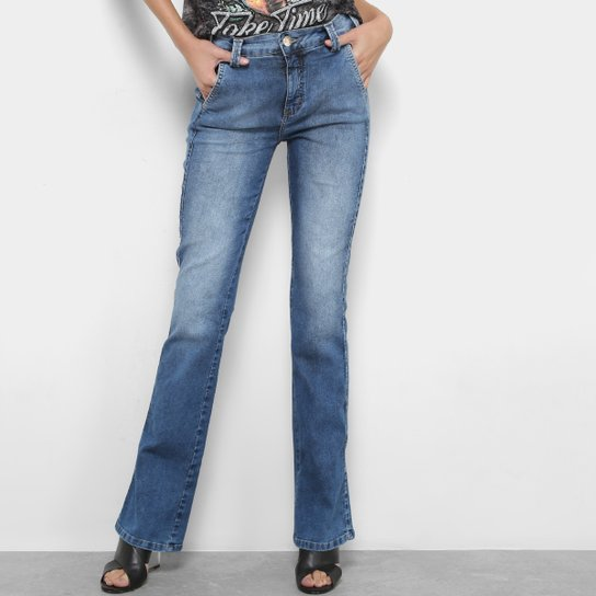 0efb0fc9f Calça Jeans Triton Boot Cut Feminino - Azul | Zattini
