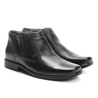 6fcfe6e4f Sapato Social Couro Pegada Perfuros Masculino