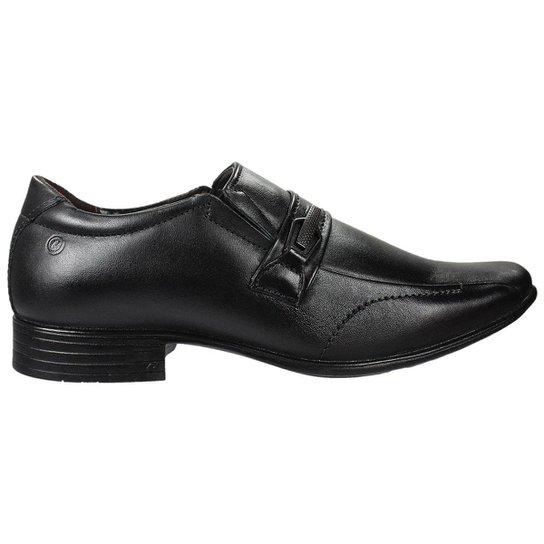 7ef12a3712e Sapato Social Pegada Bico Redondo Masculino - Preto - Compre Agora ...