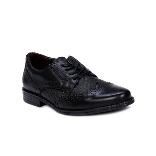 07e0a5c0bfb47 Sapato Oxford Masculino Pegada - Preto   Zattini