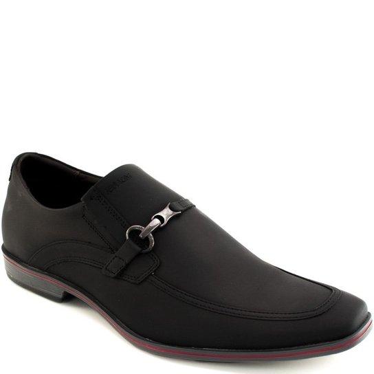 cd2e07c3417 Sapato Casual Couro Fosco Ferracini - Preto - Compre Agora