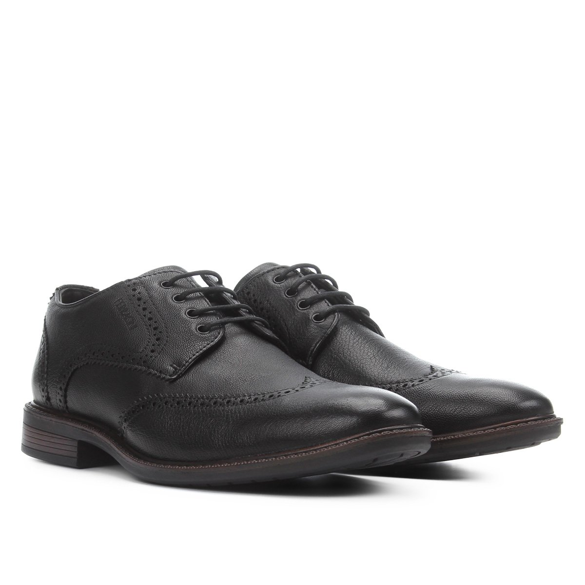 Sapato Casual Couro Ferracini Brogue