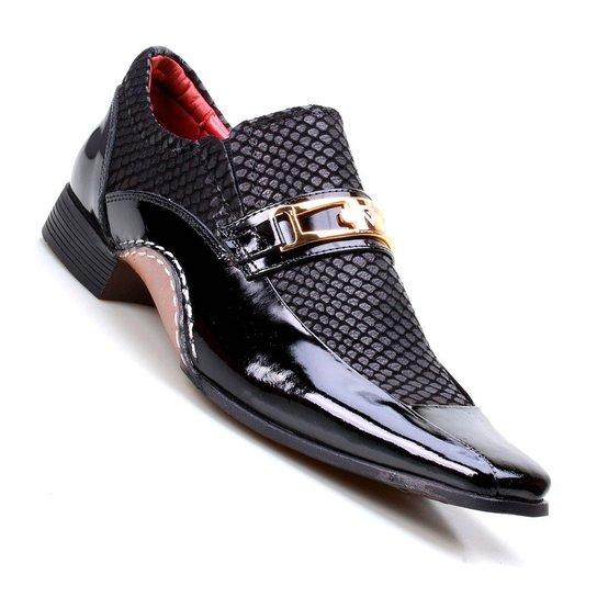 2ec18ba2b Sapato Social Masculino Calvest Super Confortável - Preto | Zattini